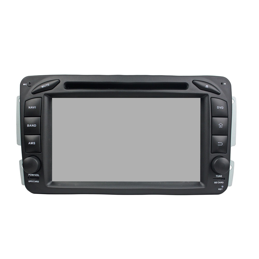 Android 9.0 system 7&quot; touch screen Car DVD player for ML <strong>W163</strong> (2002-2005) for CLK W209 (2002-2005) for C-Class W203 (2000-2004)