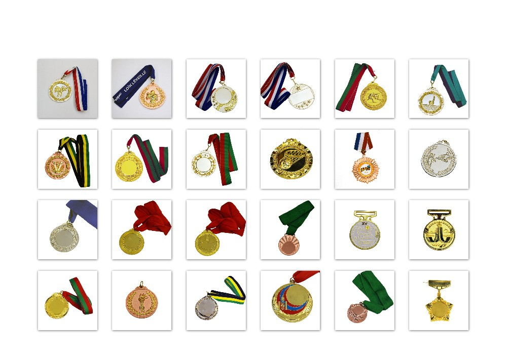 Wholesale Metal Blank Silver Cheap Medals
