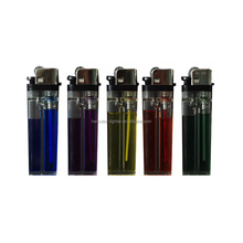 Cigarette wheel disposable mini flint lighter with transparent color HL-A01