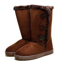 Newest design low price cute warm waterproof snow winter boots manufacturer
