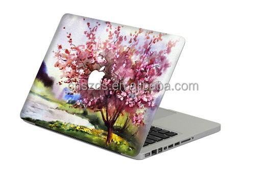 colorful computer skin sticker for macbook laptop