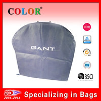 Customized Wholesale Foldable With Plastic Handle Garment Suit Bag