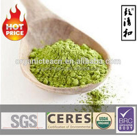 High grade organic matcha/sencha green tea powder/green tea powder with aromatic scent for beauty care