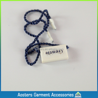 Eco-friendly customized garment seal tag strings
