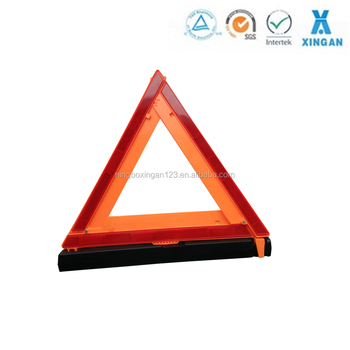 safety reflective warning triangle, roadside emergency triangle