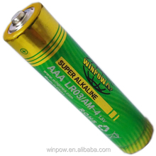 AAA size 1.5V alkaline battery, Comp BH411-3P holder available
