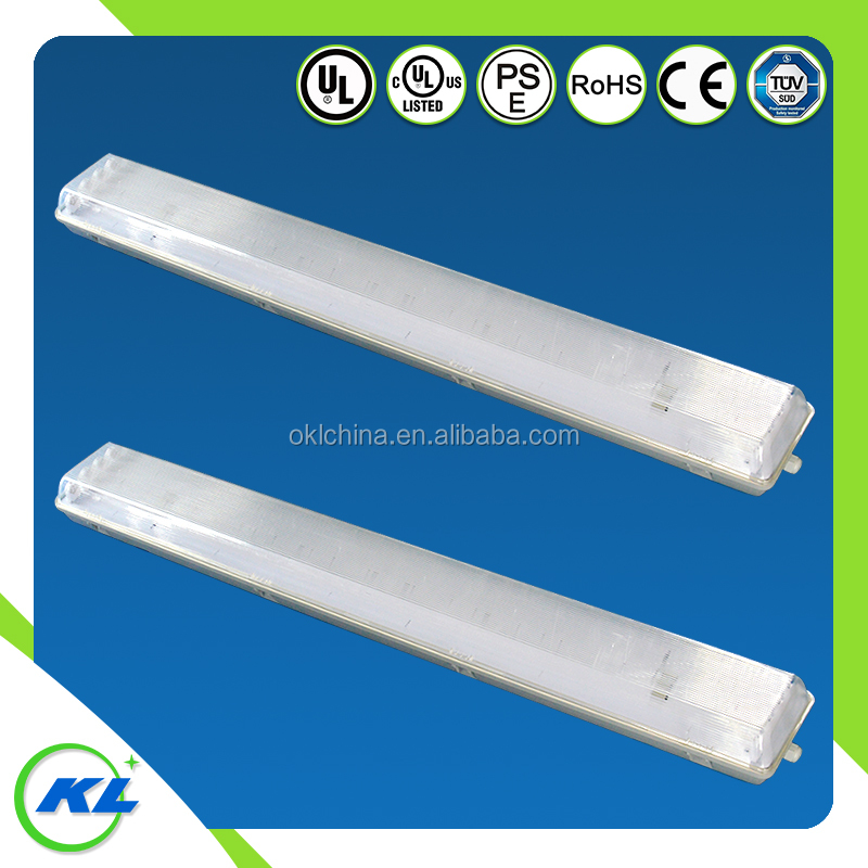 China factory LED tri-proof light fixture with PC cover, 48W LED Tube ABS base led new products hot sell on Canada US market