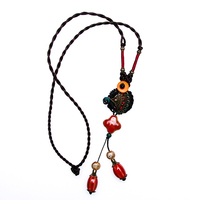 Wholesale Fashion Ceramic Beaded Necklace Jewelry
