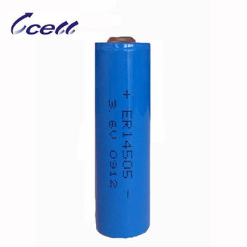 AA 2200mAh ER14505M battery 3.6