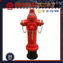 SS100/65 casting iron portable fire hydrant with low price