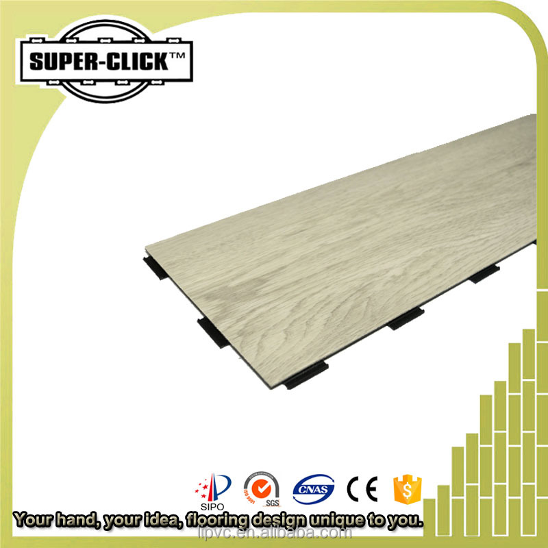 Super Click dance room gym sporting flooring pvc homogeneous flooring