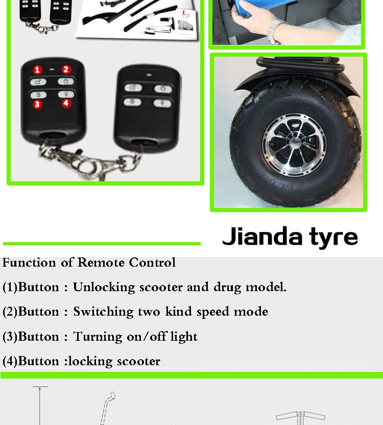 Leadway used gas cheap electric scooter tires (W5L+256a)