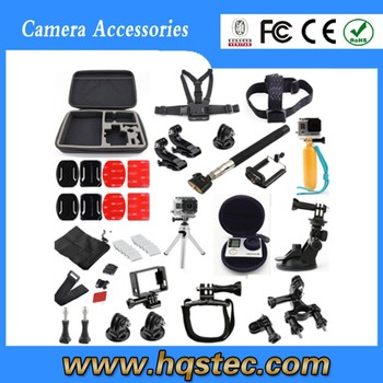 2015 Gold supplier gopros accessories for gopros heros camera go pro combo kit