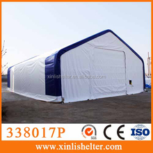 338017P Heavy duty fabric building canvas storage tent