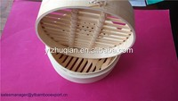 Commercial bamboo steamer basket food steamers wholesale