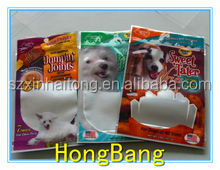Pet snack food packaging bag /stand up pouch for pet food-0184