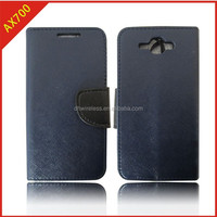 hight quality pu case for bmobile ax700, flip new arrival wallet cover for ax700 with card slot