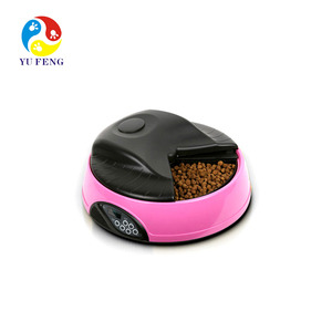 new pet products high quality dropshipper 4 meals LCD for sale automatic pet feeder