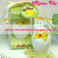 Baby Chicken Smookless Candle Baby Shower Baptism Party Favor Children birthday gift present baby boy girl