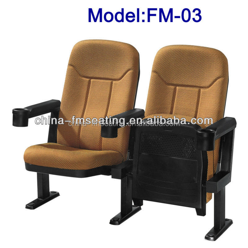 FM-03 Modern 3d movie folding cinema chairs used for sale