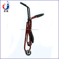 Rehabilitation Therapy Aluminum Folding Elder Rollator Walker