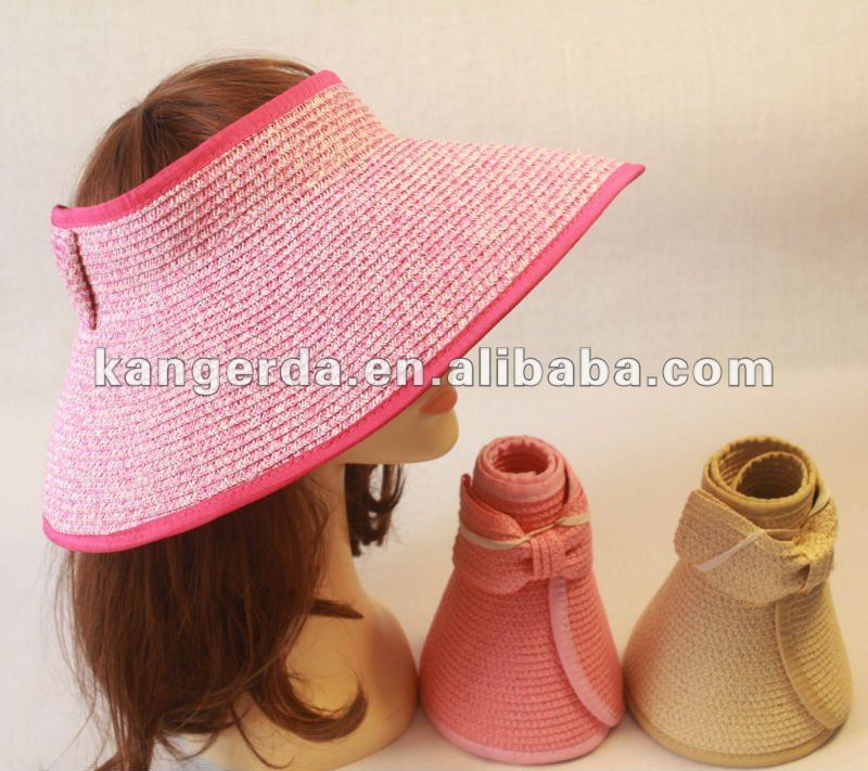 sun hat/women hat/folding straw hat