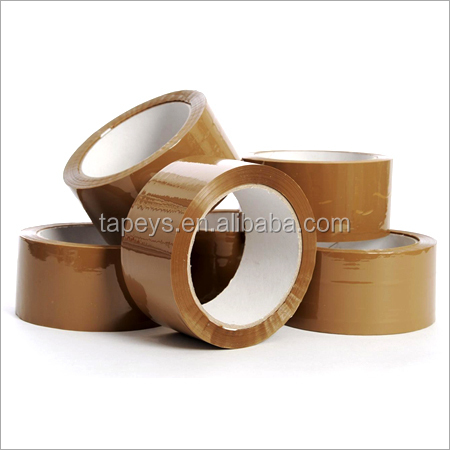 "Cheap price Tan Packing Tape 3""x110 Yards BOPP adhesive Brown tape"