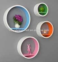 HONGDA Round Wall Shelf Kit