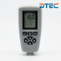 DTEC DC20FN Coating Thickness Gauge, Built-in Dual Probes(ferrous and nonferrous),Auto Switch,Test Range:0-1300um,Best Price.