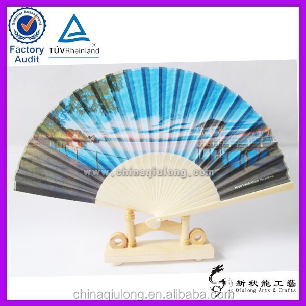 handicraft product japanese wholesale bamboo paper hand fan