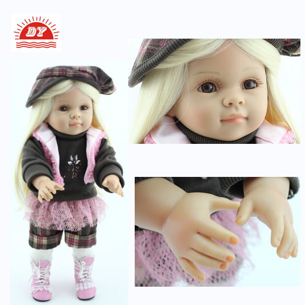 2017 New Baby Alive Doll / Vinyl 18 Inch Realistic Reborn Baby Doll
