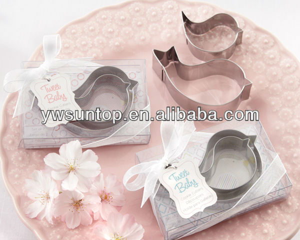 High Quality Cake Mould Wedding Gifts Lovely Mother & Baby Bird Cookie Cutter