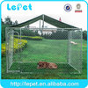 10x10x6 foot classic galvanized outdoor dog kennel wholesale dog kennel run