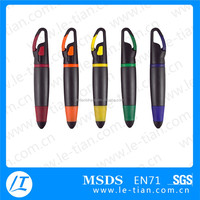 2015 New promotional style plastic short ballpoint pen for gifts