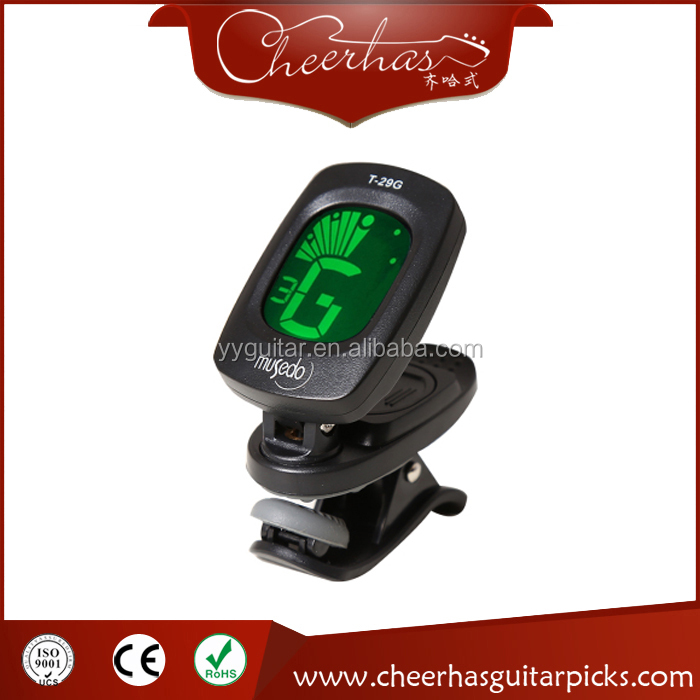 2017 hot selling clip-on guitar tuner