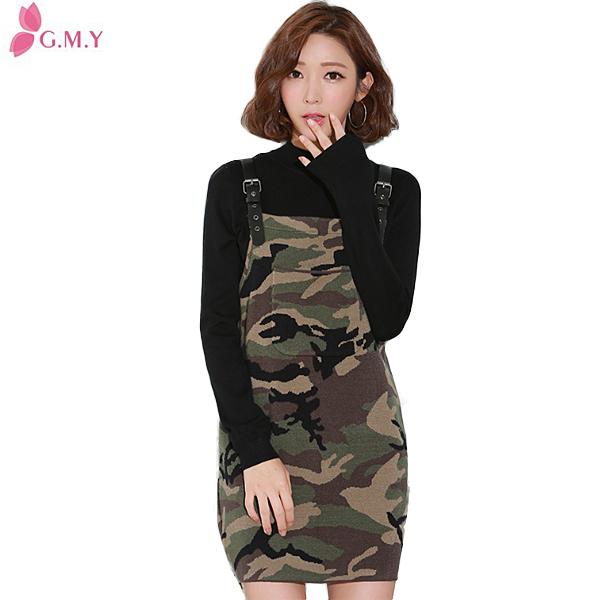 women fasgion camouflage strapless dress pattern