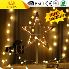 3DH1003 Five-pointed star shape 3D home decotraion light
