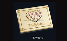 Song A Metal Excellent Nickel free PVD coating shining brand name plates