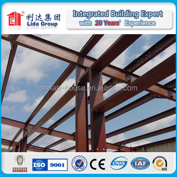 Low Cost Prefab Steel Structure Workshop/Steel Structure Contractor Product/Prefab light steel structure buildings