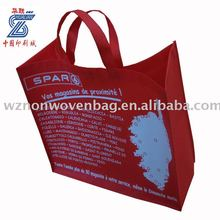 silk screen printing non woven bag for shopping