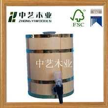 2015 hot sell FSC&SA8000 approved Factory supplier unfinished beer keg manufacturers wine barrel