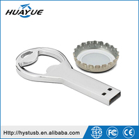 Hot sale Beer bottle opener usb memory sticks key chain usb flash Drive 64GB 32GB 16GB 8GB 4GB usb Pendrive
