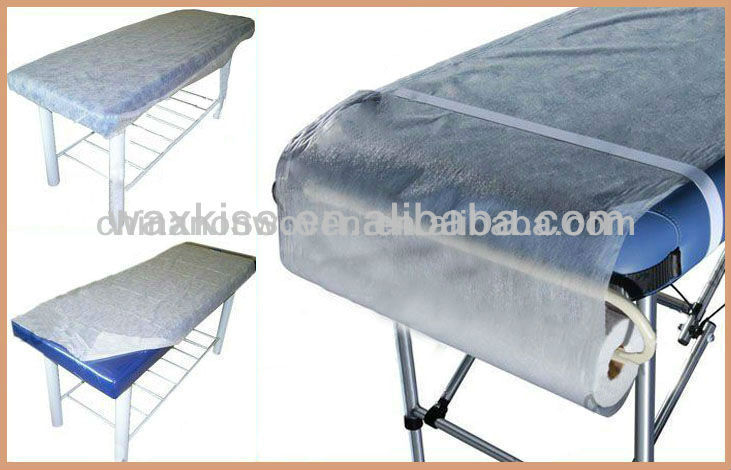 Disposable bed sheet rolls for Hospital medical use/beauty salon