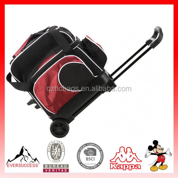 High Quality Ball Tote Bag Bowling Bag with Wheels