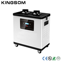 Digital welding Laser welding fume extractor with two extraction arms