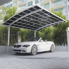 polycarbonate new design aluminum car parking shelter