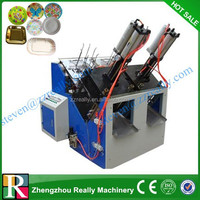 Hot sale! Automatic disposable plates making machine used waste paper