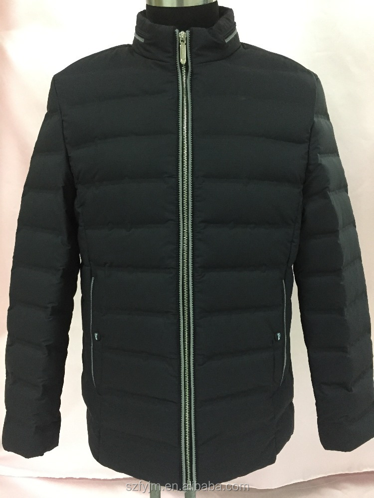 Men 100%polyester down jacket