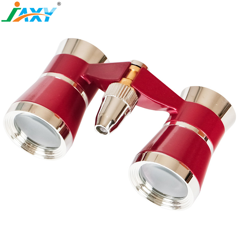 Jaxy 3X25 high quality mini fashion theater Vintage promotional classical opera Binoculars for ladies and women