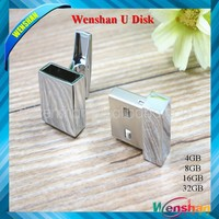 Hot selling metal usb flash dirve ,stamp shape trendy usb drive with factory price